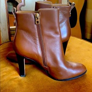 Beautiful lightly worn Coach ankle boots